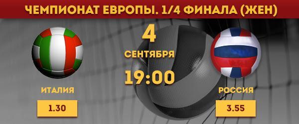 Коэффициенты на матч Испания - Россия