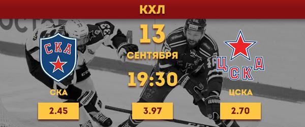 СКА - ЦСКА: Прогнозы на матч
